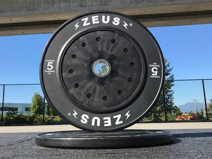 Zeus Droppable 5kg Bumper Plates