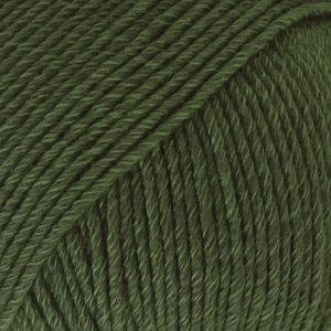 Drops COTTON MERINO 22 - verde oscuro / dark green