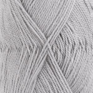 Drops BABYALPACA SILK UNI COLOUR - 8108- gris claro / light grey