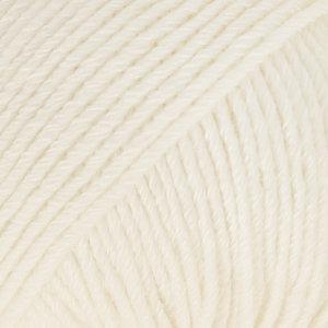 Drops COTTON MERINO - 01 - blanco / white
