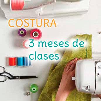 3 Meses de Clases de Costura