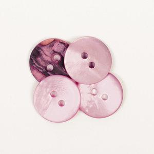 Drops BOTON  Redondo (rosado): (15mm)  Ref. #622