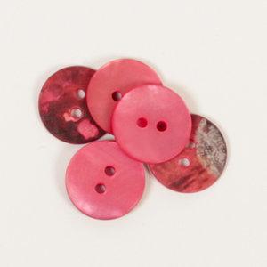 Drops BOTON  Redondo (rojo): (15mm) Ref. #605