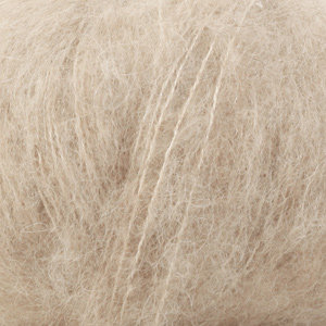 BRUSHED ALPACA SILK UNI COLOUR - 04 - beige claro / light beige