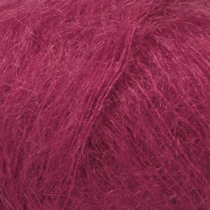 Drops KID-SILK UNI COLOUR - 17 - rosa oscuro / dark rose
