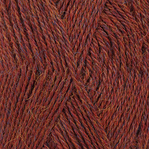 ALPACA MIX - 5565 - granate claro/ light marron