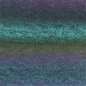 Drops DELIGHT PRINT - 09 - turquesa/morado- turquoise/purple