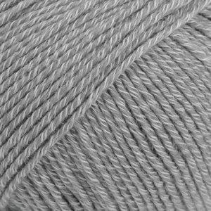 Drops COTTON MERINO  - 18 - gris medio / medium grey