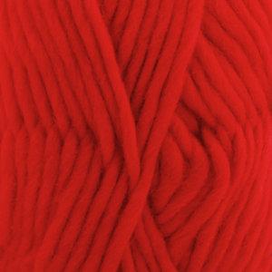 Drops ESKIMO UNI COLOUR - 56 - rojo navidad / chritmas red