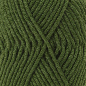 Drops BIG MERINO - 14 - verde bosque / forest green