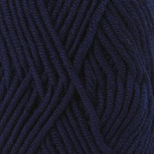 Drops BIG MERINO - 17 - azul marino / navy blue