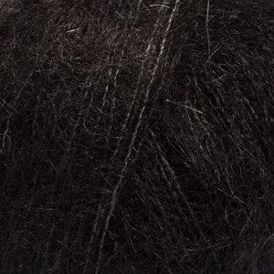 Drops KID-SILK UNI COLOUR - 02 - negro / black