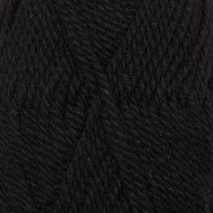 NEPAL UNI COLOUR - 8903 - negro / black