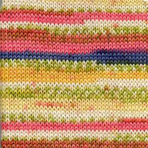 FABEL PRINT - 903 - amarillo/rosado -yellow/pink
