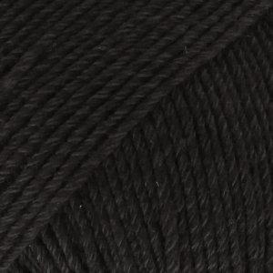 Drops COTTON MERINO - 02- negro / black
