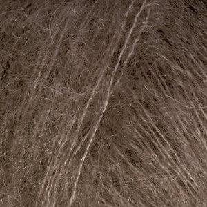 Drops KID-SILK UNI COLOUR - 15 - café oscuro / dark  brown