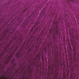 BRUSHED ALPACA SILK UNI COLOUR - 09 - púrpura / purple