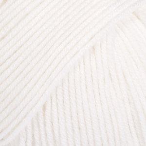 Drops BABY MERINO - 01 - blanco / white