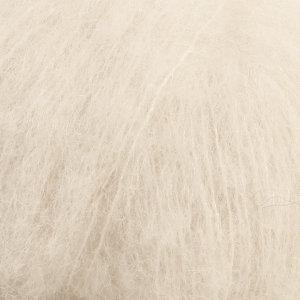 Drops BRUSHED ALPACA SILK UNI COLOUR - 01 - blanco hueso / off white