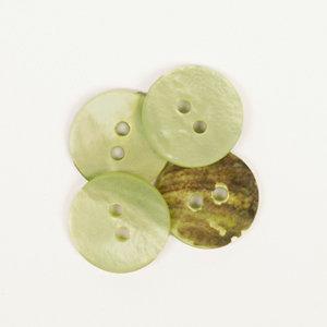 Drops BOTON Redondo (verde): (15mm) Ref. #620