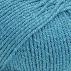 Drops COTTON MERINO  - 24 -  turquesa / turquoise