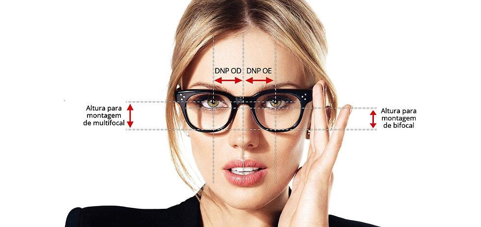distancia pupilar, dnp, d.n.p., altura multifocal, lentes multifocais, multifocal, medidas óculos, altura de montagem, óculos correto, miopia, hipermetropia, astigmatismo, presbiopia, falta de visão, óculos perto, vista cansada, lages, erechim, sc, rs, precisao, ótica confiança, adaptação multifocal