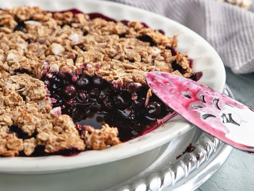 Sweet for Summer Blueberry Cobbler