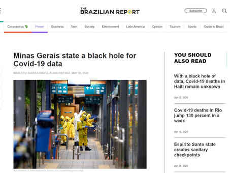 The Brazilian Report - 09/05/2020