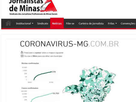 Jornalistas De Minas - 09/06/2020
