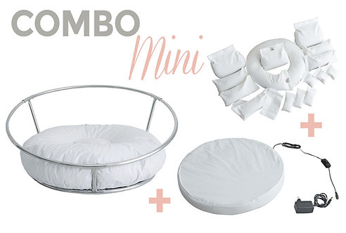 COMBO MINI STAND + BABY BEDTIME + KIT POSITIONERS - PALOMA SCHELL
