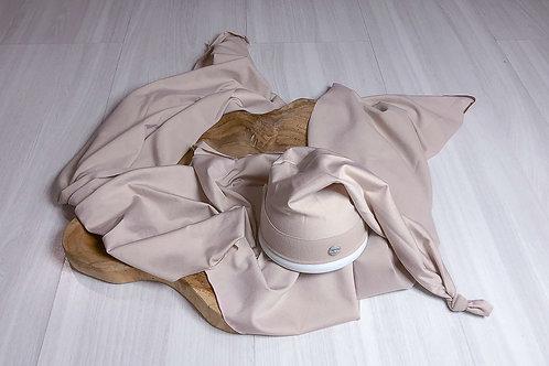 Kit Wrap de Contenção e Finalização Kit Wrap Finalização Listrado + Touca Soneca