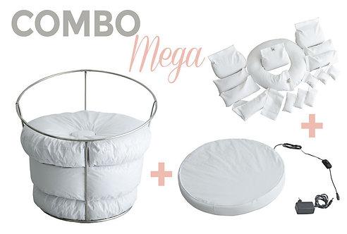 COMBO MEGA STAND + BABY BEDTIME + KIT DE POSICIONADORES