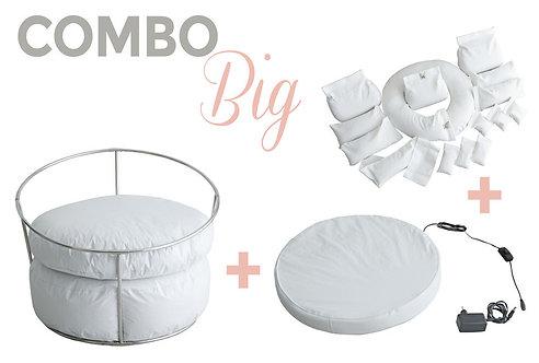 COMBO BIG STAND + BABY BEDTIME + KIT DE POSICIONADORES