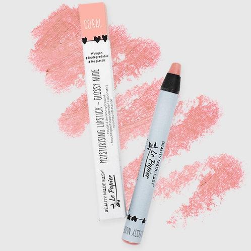 Ενυδατικό Lipstick - CORAL