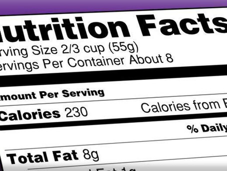 Nutrition Labels: It's Time For The Food Industry To Change