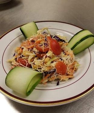 Rice Noodle Salad with a Citrus Peanut Dressing