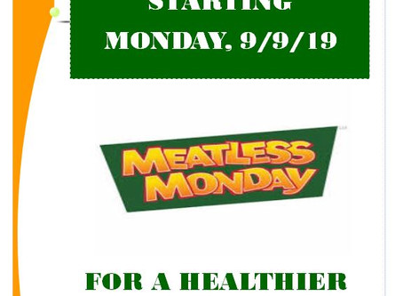 Meatless Mondays are coming to Brookdale Hospital.
