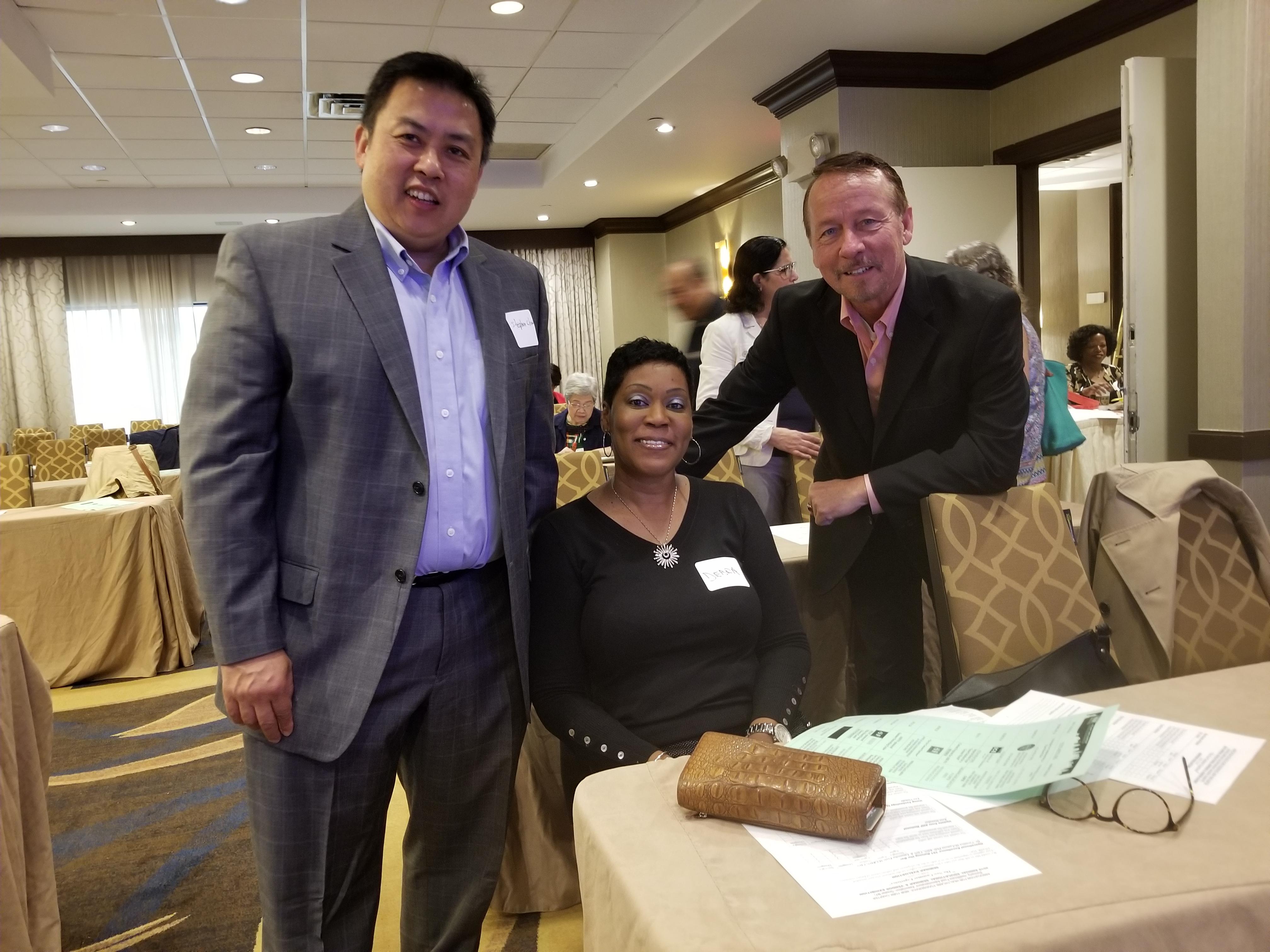 Stephen Chow, Debra Alexander, Frank