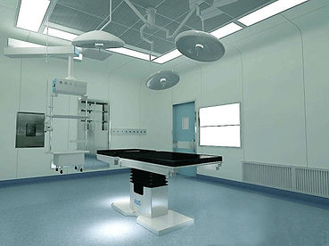 Hygienic Wall Cladding Healthcare Sector Installation