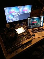 regie 4 cams diffusion live capta