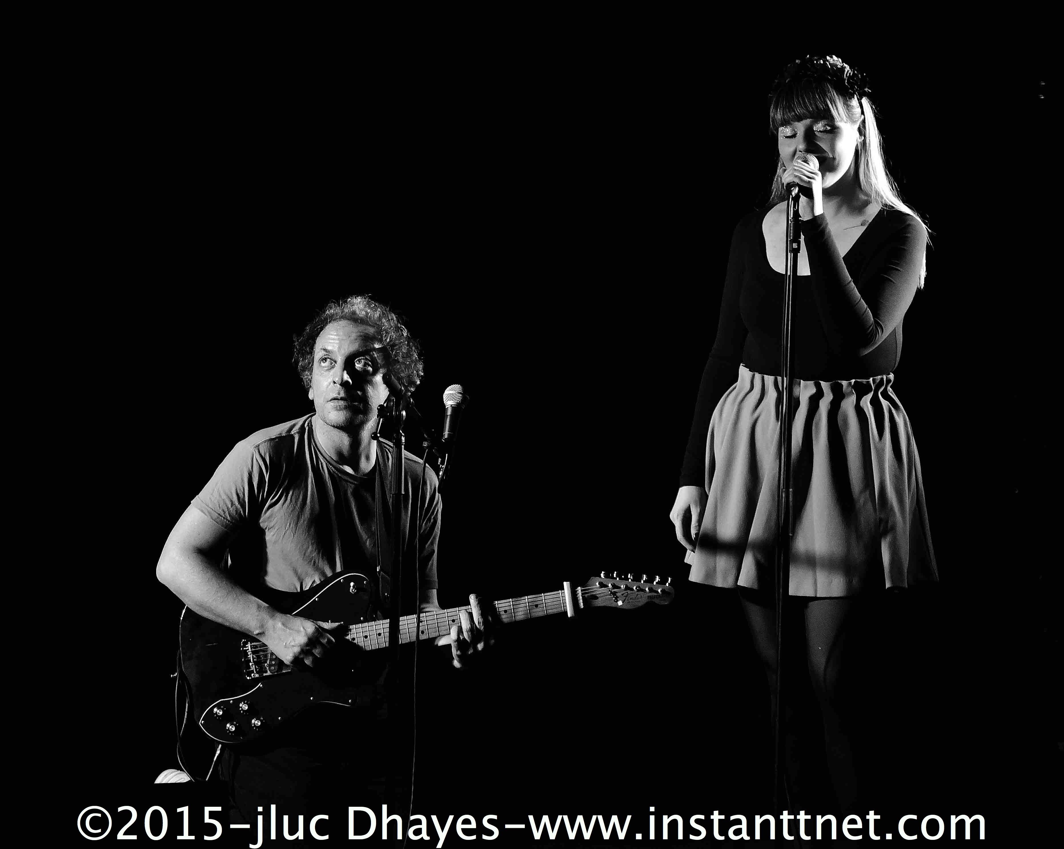 Luce et Mathieu Bogaert live paris