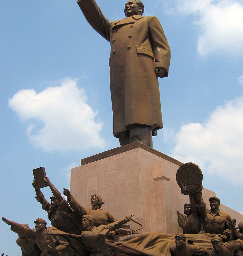 Statue of Mao Zedong in Shenyang by Yumingshe