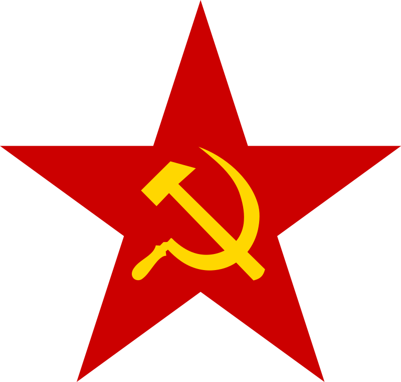 The communist symbols of the Red Star, the Hammer and the Sicklembols