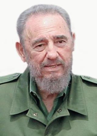 Fidel Castro, President of Cuba until 2008. Photo by Antônio Milena/ABr - Agência Brasil [1]