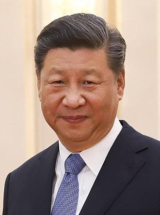 Xi Jinping in 2019 by Palaciodo Planalto