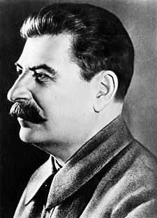 Joseph Stalin, successor of Lenin as head of the Soviet Union
