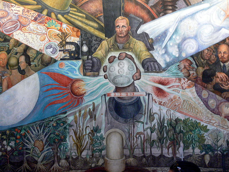Man Controller of the Universe by Diego Rivera