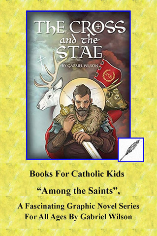 """Among the Saints"", A Fascinating Graphic Novel Series For All Ages By Gabriel Wilson"