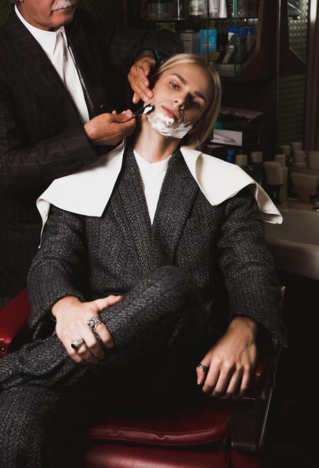 Mateusz Maga in suits