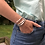 Thumbnail: Pearl Stars & Vinyl Disc Bead Bracelet